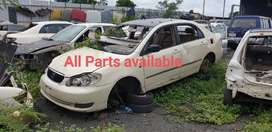 Toyota corolla 1.8 petrol parts available