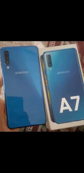 A7 mobile model 2018 finish