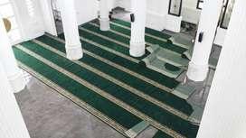 Gudang Jual Sajadah Masjid ROll Polos Palembang
