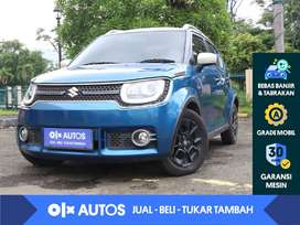 [OLXAutos] Suzuki Ignis 1.2 GL A/T 2018 Biru