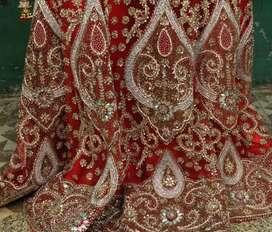 Red bridal Choli