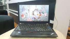 Notebook Lenovo Thinkpad X220 Intel Core i7 SandyBridge Mesin Bandel
