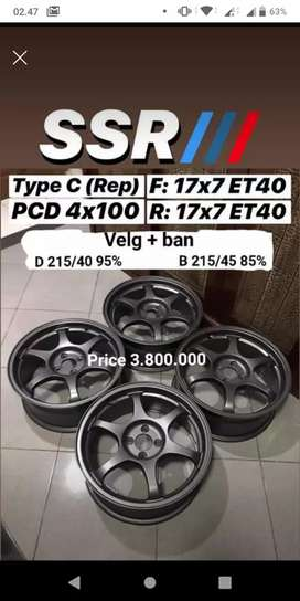 SSR type C r17 pcd 4x100