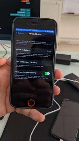 iPhone 7 128GB second fullset lecet pemakaian
