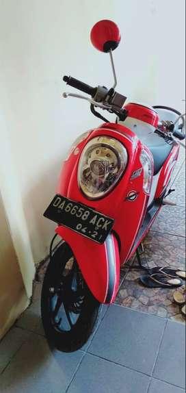 Dijual Sepeda Motor Honda Scoopy Sporty