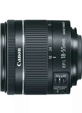 Canon EF-S 18–55mm f/4–5.6 IS STM Lens with full waranty