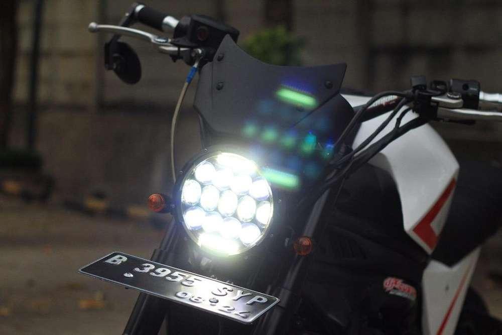 Kawasaki er6 er6f 2012 modif scrambler