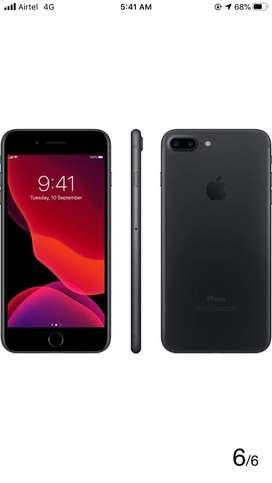 Iphone 7 plus matt black 32 GB