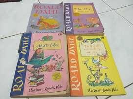 Buku karya roald dahl 4 judul