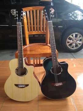 Gitar Akustik tanam besi