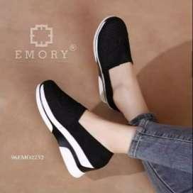 Sepatu wedges esmory