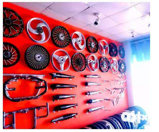 Royal Enfield geniune spares and service centre. 0