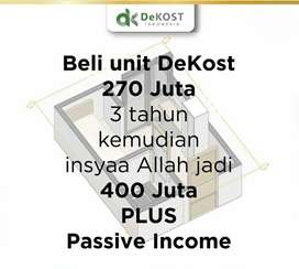 Invest di Appartement Kost Syariahh