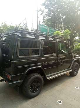 Mercedes Benz G300 open indent
