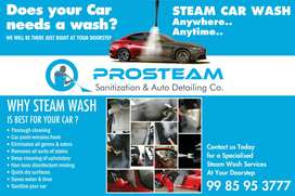 PROSTEAM CAR WASH(At Your DoorStep.)