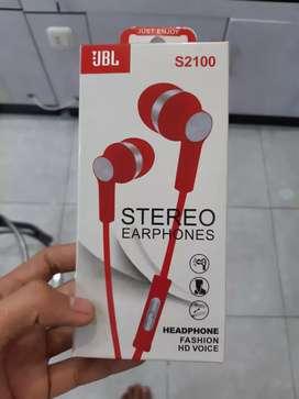 Headset jbl type s2100 bass