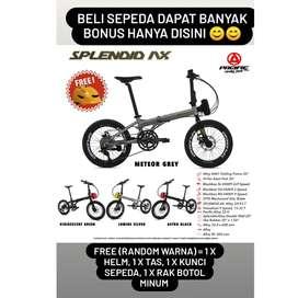 Sepeda Lipat 20 Pacific Splendid AX Alloy 2x9sp banyak bonus