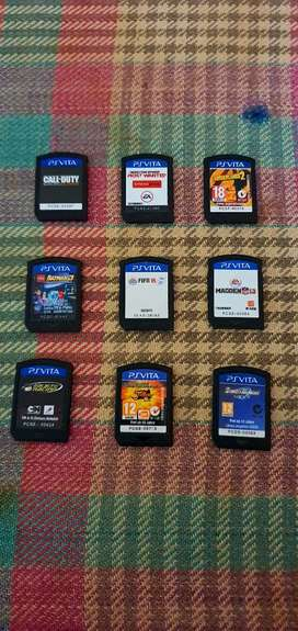 Ps vita physical game cards