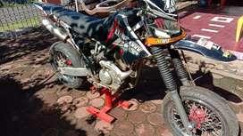 Motor klx sudah bor up siap di gass