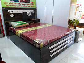 Brand New Queen Size Wooden Box Bed at Wholesale Price