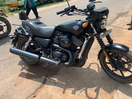 Well maintained Harley Davidson street.750
