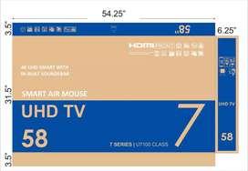 Nya saal ka dhamaka offer new LED smart TV 40 inch wholesale price me