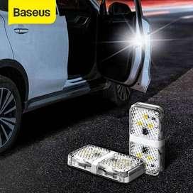 ORI Baseus LED Safety Lamp Car Door Warning - Lampu Putih Lampu LED