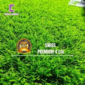 Rumput sintetis swiss premium 4cm