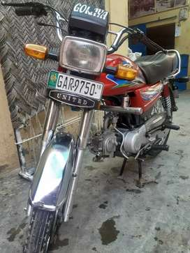 UNITED motorcycle model 2018 No.GAR 9750 for sale