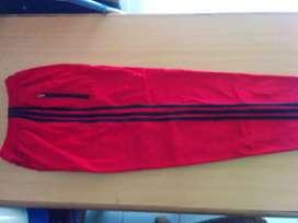 Training olahraga set (kaos cotton combed + celana deadora)