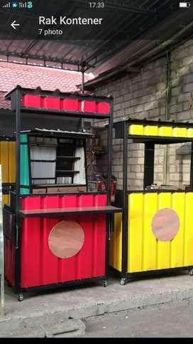 Sewa Both container 250 prbulan