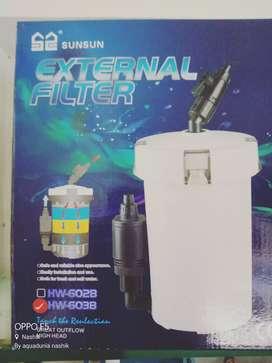 sunsun HW 603B canister filter at AquaDunia Nashik