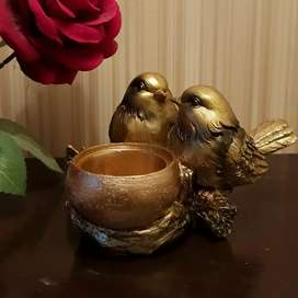 Birds themed beautiful ash tray with original imported packing
