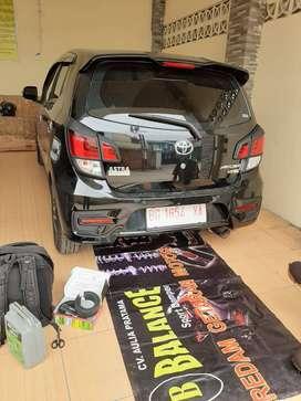 Tnpa KENDALA GRUDUK di JLN Berlubang,mobil WAJIB PASANG BALANCE DAMPER