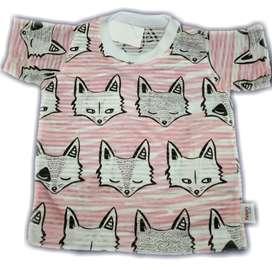 Kaos anak motif