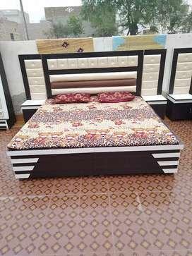New modern bed