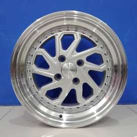 Cicil Velg Mobil Jazz  Brio DP 10% Ring 16 HSR DOBO 4X100 SMF