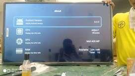 32 Inch smart anroid tv 2year warranty with bill.brand aquafresh
