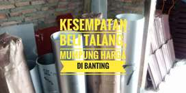 Promo Banting Harga Talang Galv asli 100.persen 0.25/60 dan reng