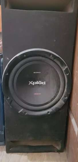 Heavy sound system for car