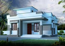 708 Sqft 2BHK House+ 3 Cent Plot 16 Lakhs