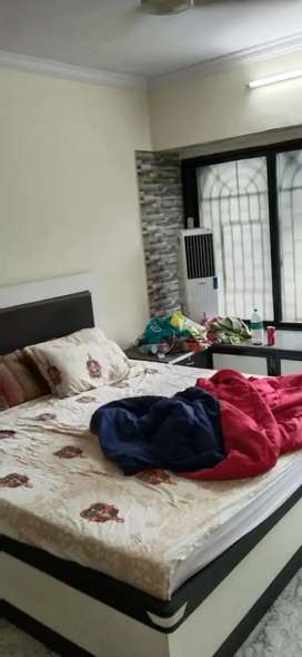 1rk fullyfurnished flat on rent in goregaon east for more call me etc.