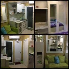 2BR Full Furnished harga murah  - Green Pramuka City Jakarta*Jual/Sewa