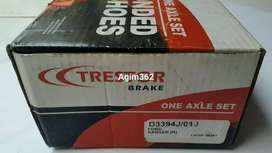 Trestor Brake Shoe (Kampas Rem) Ford Everest/ Ford Ranger DCab