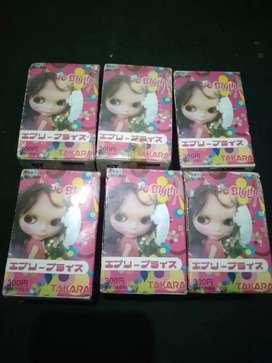 Mini figure boneka Blythe karet