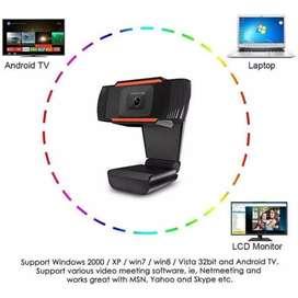 Webcam X8 Full HD 480p Autofocus Web Camera PC Laptop Desktop Camera