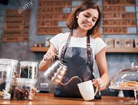 Wanted female cafe / Restaurant worker