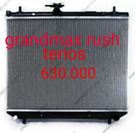 Radiator mesin grandmaxRushTerios manual