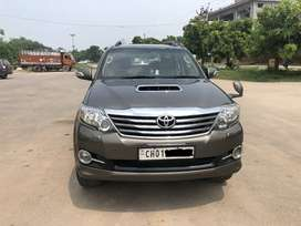 Fortuner Grey color Automatic 2015
