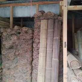 Tirai bambu hitam jaya